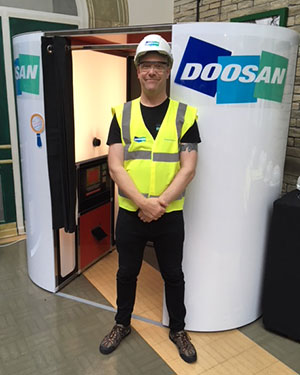 Doosan Branded Booth
