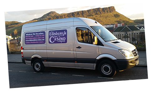 Edinburgh Fun Casino Van
