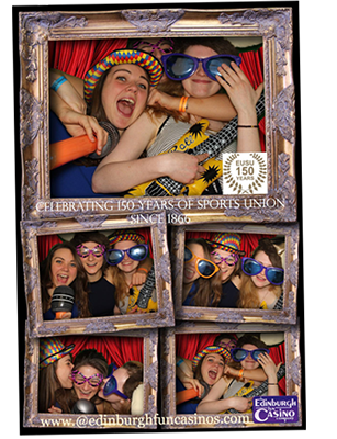 Edinburgh Fun Casino Photobooth