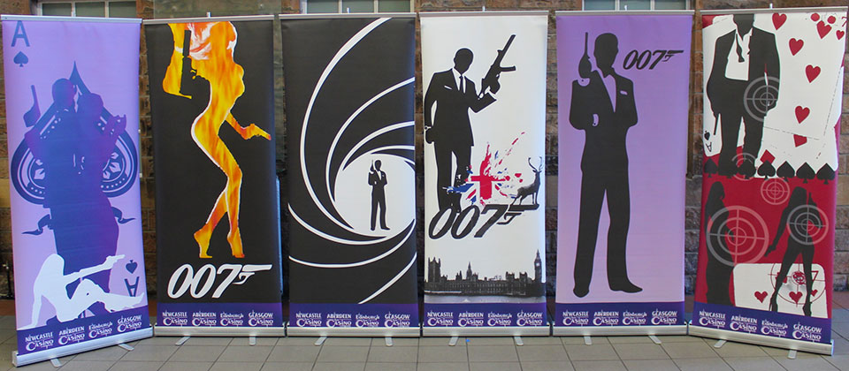 James Bond Banners