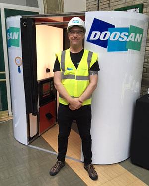 Doosan Branded Booth