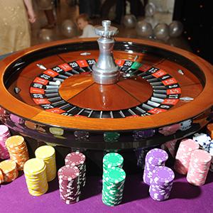 Edinburgh Fun Casino Roulette Table